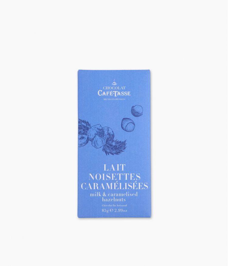 Tablette Chocolat Noir Noisettes Caramel Beurre Salé
