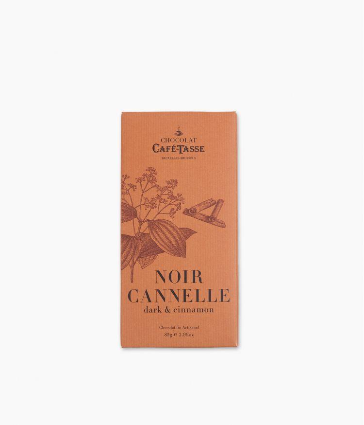 Tablette Chocolat Noir Cannelle
