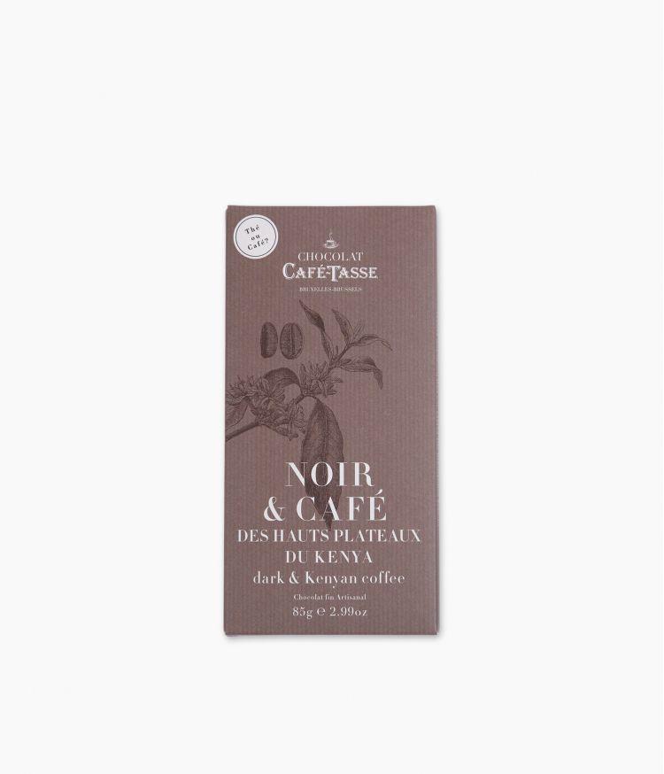 Tablette Chocolat Noir Café du Kenya