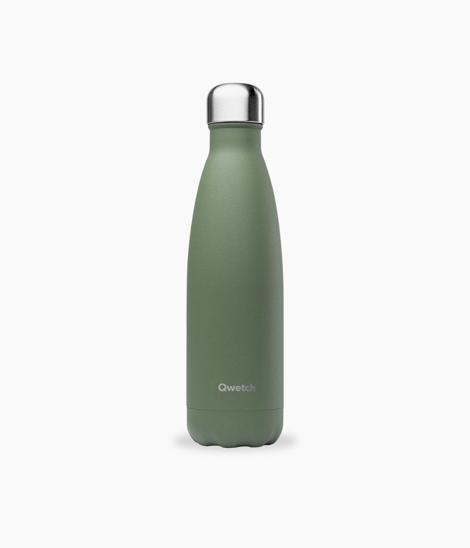 bouteille isotherme granite kaki 500ml
