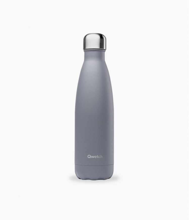 bouteille isotherme granite gris 500ml