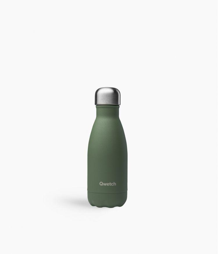 bouteille isotherme granite kaki 260ml