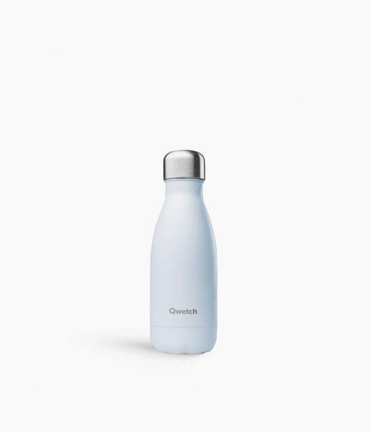 bouteille isotherme pastel bleu 260ml