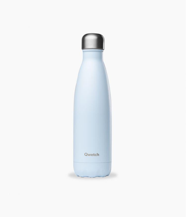 bouteille isotherme pastel bleu 500ml