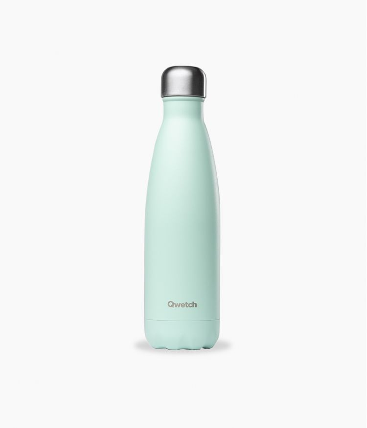 bouteille isotherme pastel vert 500ml