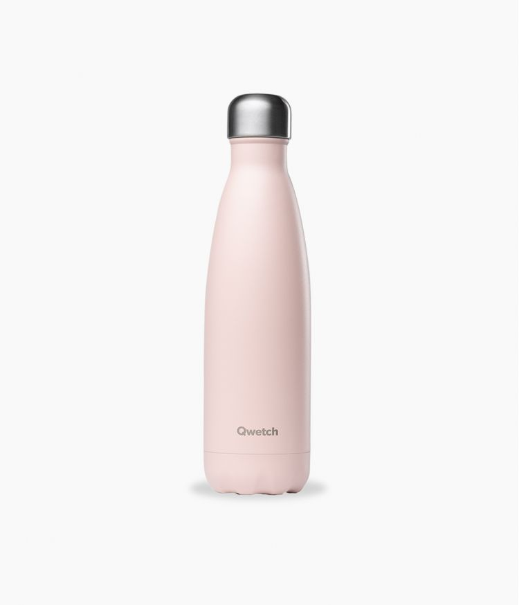 bouteille isotherme pastel rose 500ml