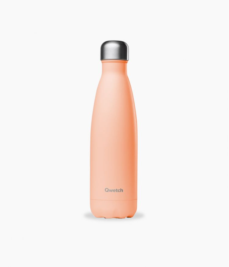 bouteille isotherme pastel peche 500ml