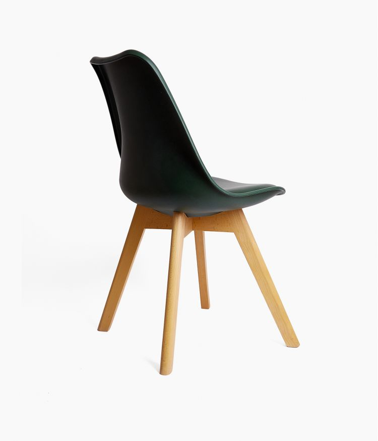 Chaise design scandinave - Vert Forêt