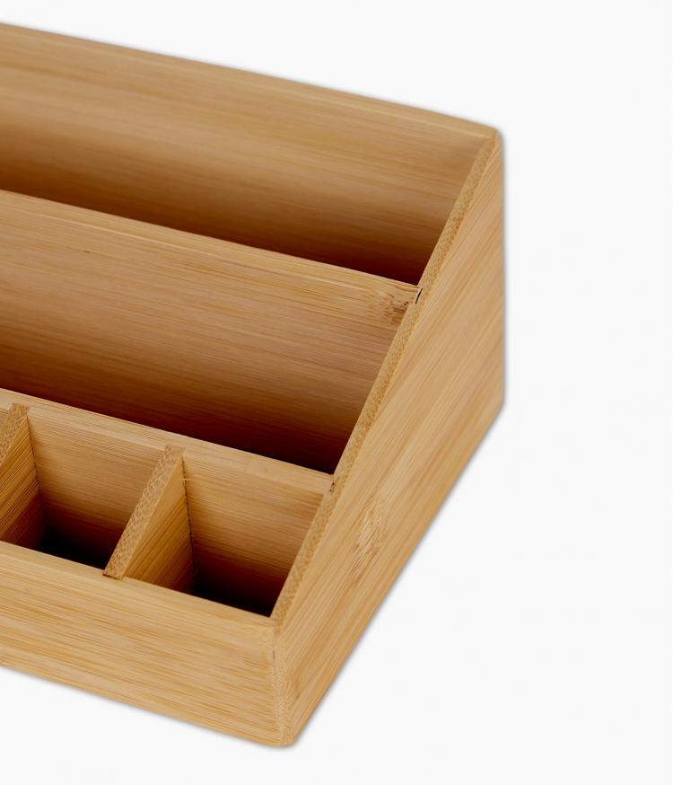 organizer maquillage maxi bambou