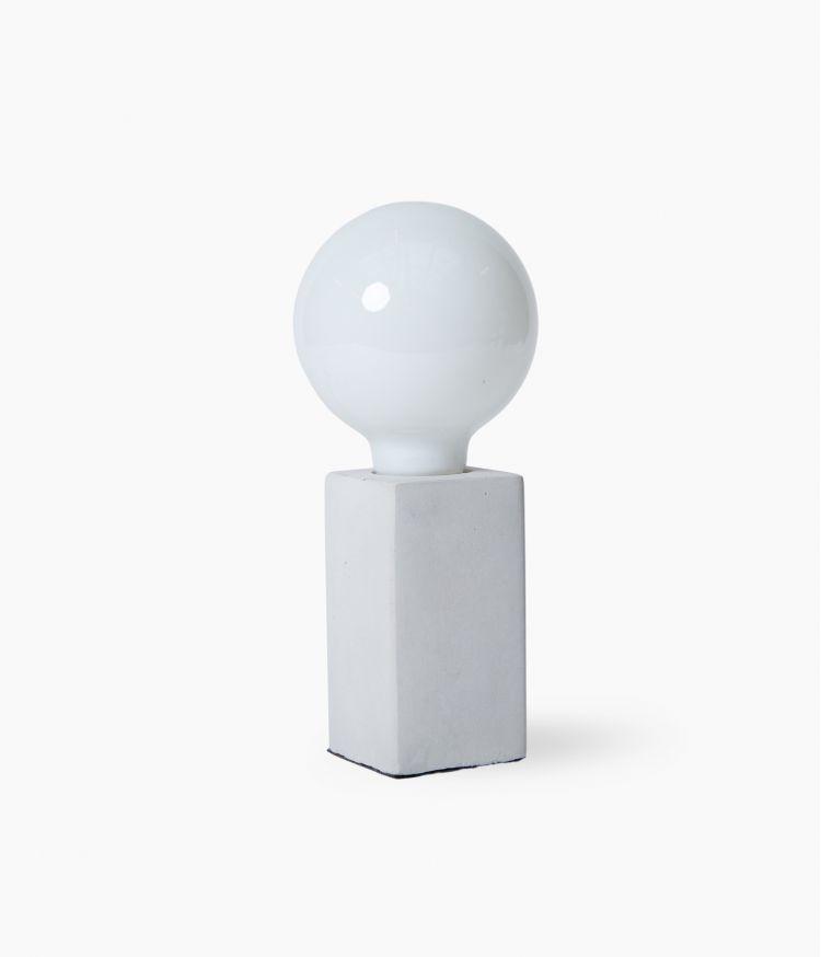 Lampe Ciment Carrée