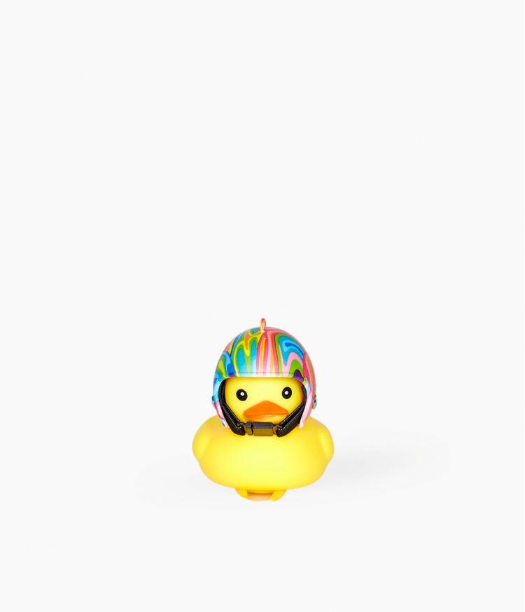 Sonnette pour Vélo - Canard Casque Multicolore