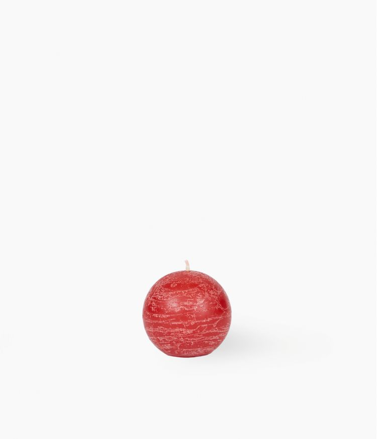 Bougie Rouge Ronde 100 g
