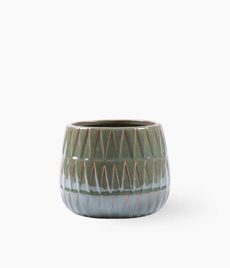Vase Vert Petit Modèle
