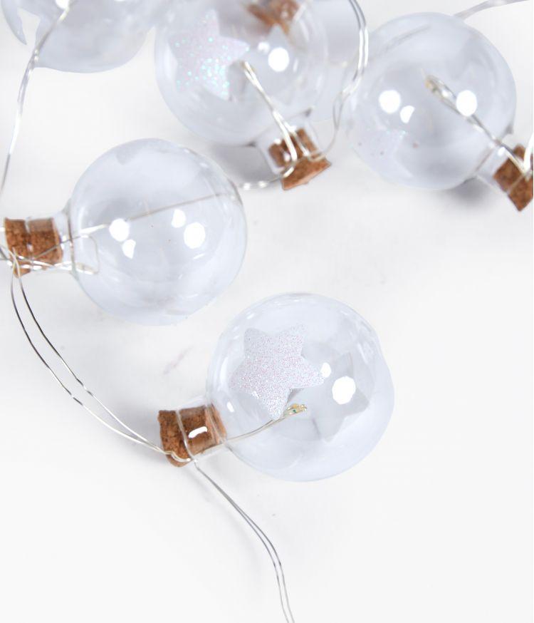 Guirlande 12 étoiles LED