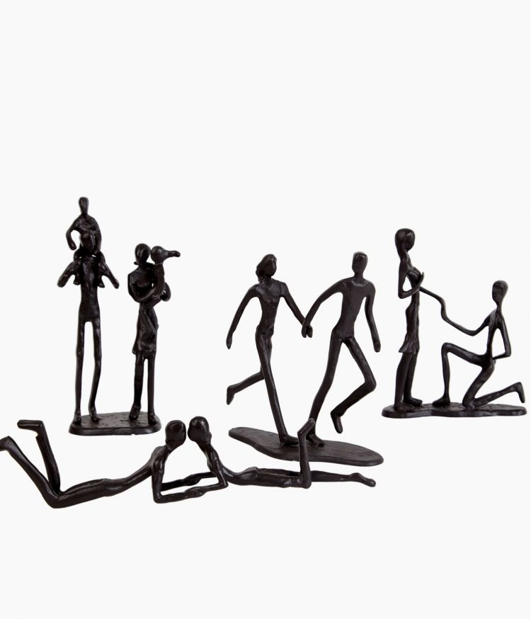 sculpture loving fer marron