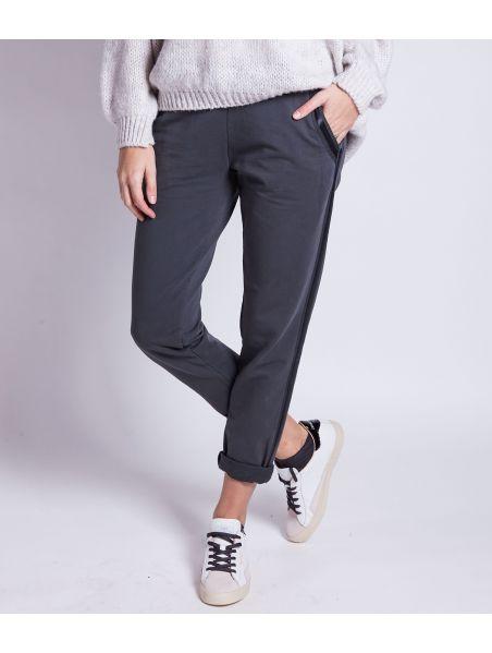 Pantalon Fluide Gris