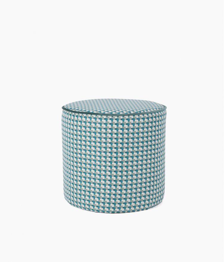 Tabouret motif Cubes