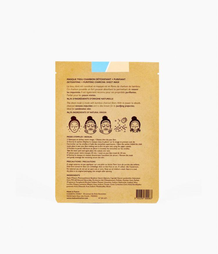 Masque Nettoyage de Printemps Femme