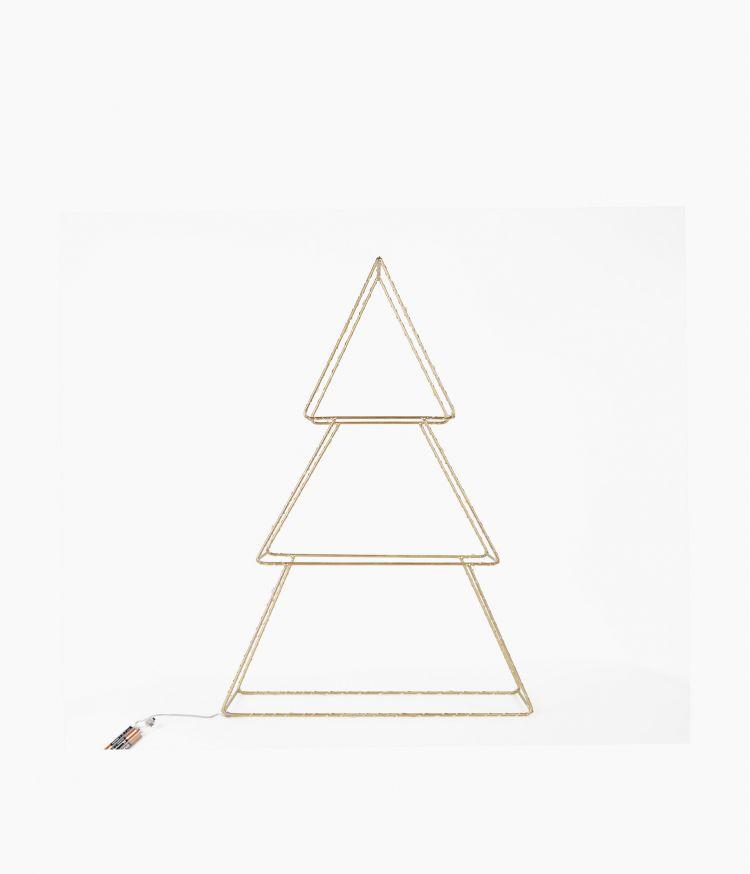 Sapin Géométrique LED Petit Modèle