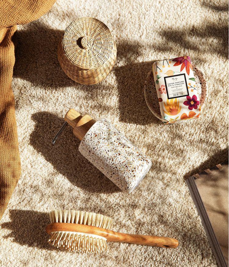 Distributeur de savon en Ciment motif mosaïque