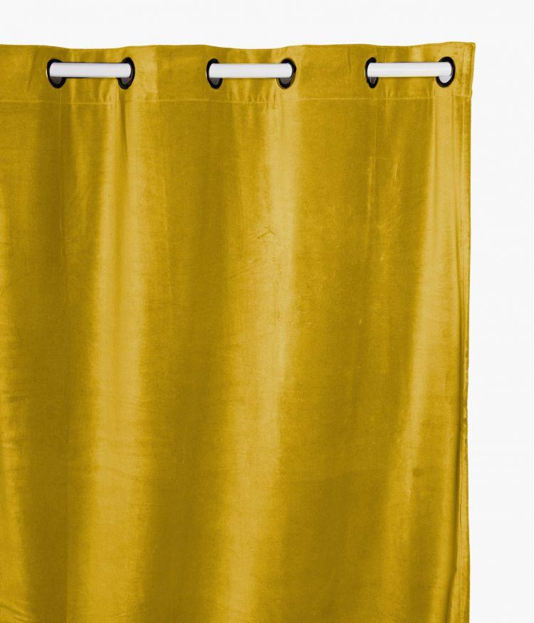 Rideaux 135 x 300 en velours - Safran
