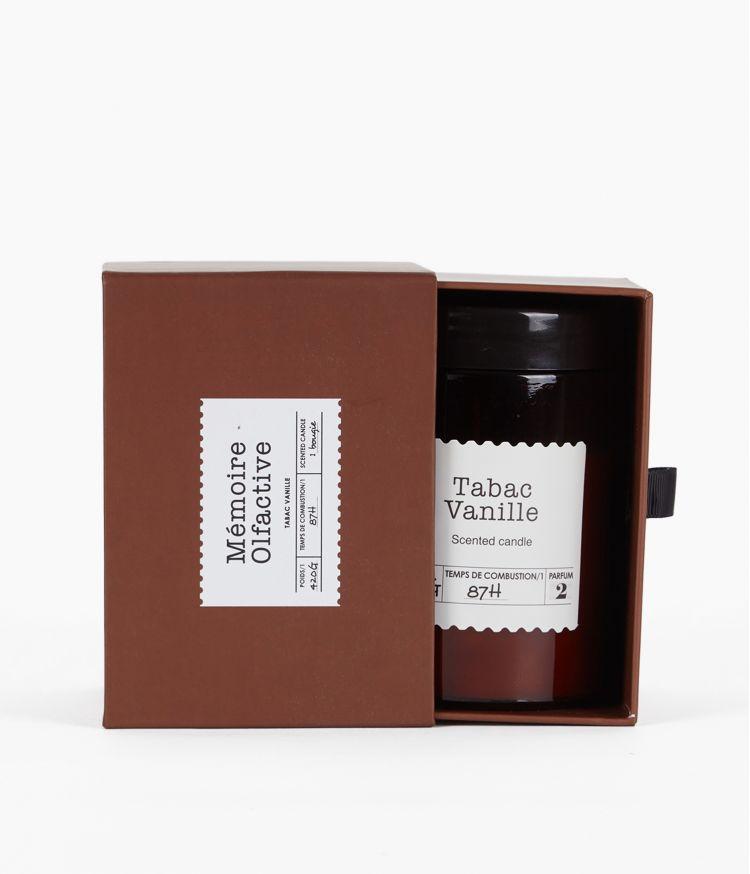 Bougie Mémoire olfactive Grand Tabac Vanille