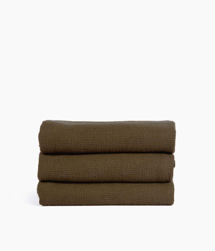 Serviette de bain 50 x 100 cm en Coton - Brownie
