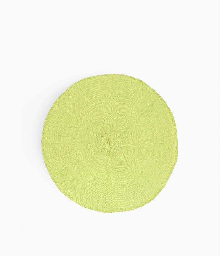set de table 38cm lime