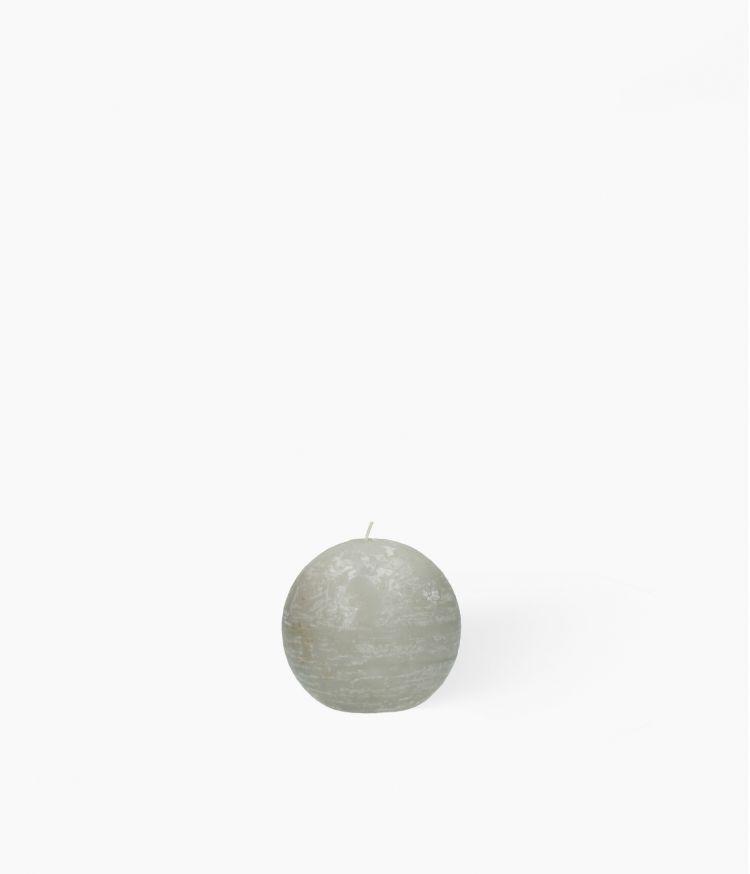 bougie boule toile d9cm