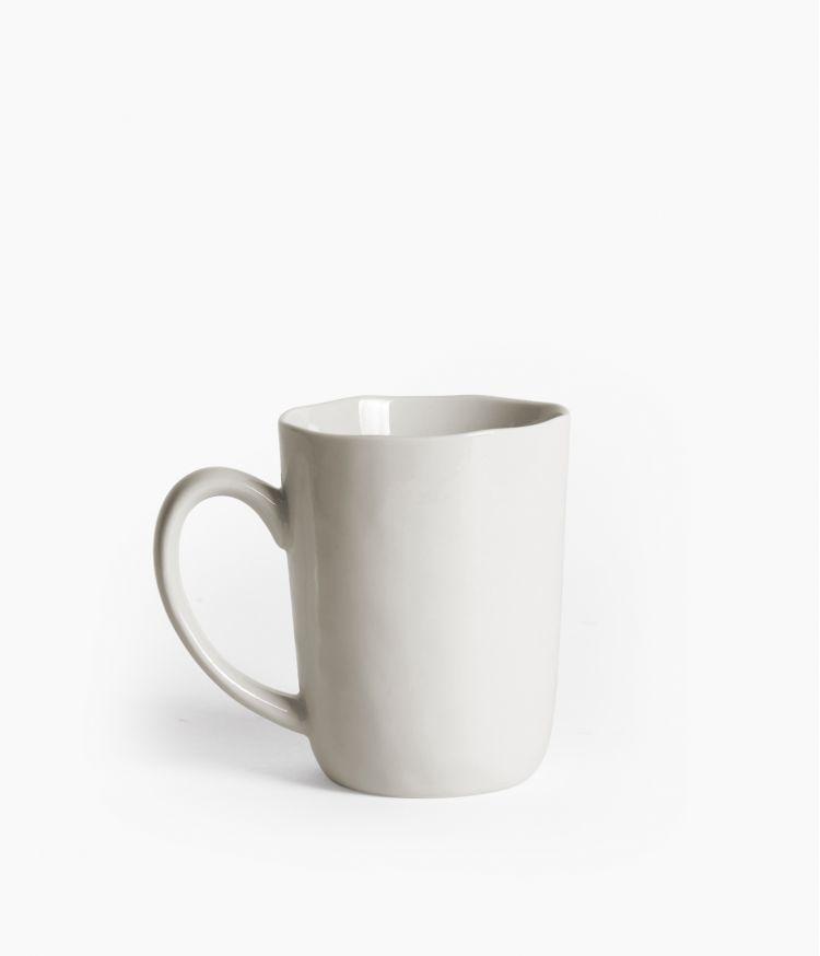 Tasse en Porcelaine Blanche