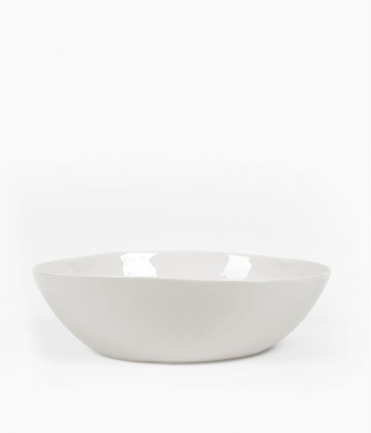 Saladier en Porcelaine blanche