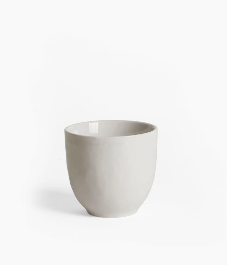 Gobelet en Porcelaine blanche