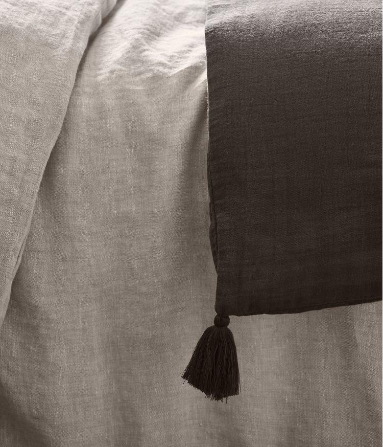 Taie d'édredon 85 x 200 cm en Voile de coton - Brownie