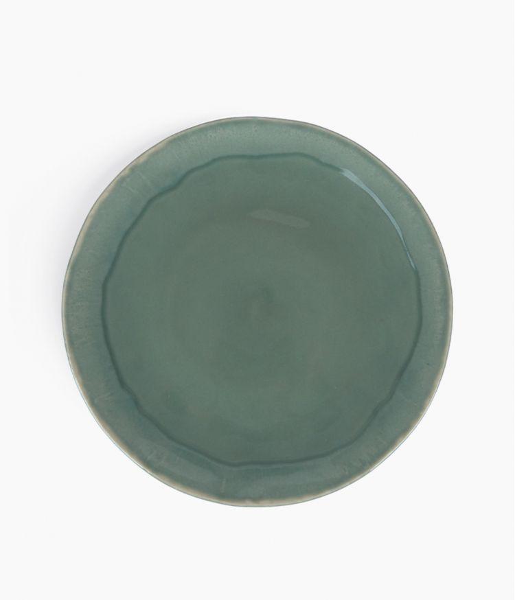 Assiette Plate Vert Clair