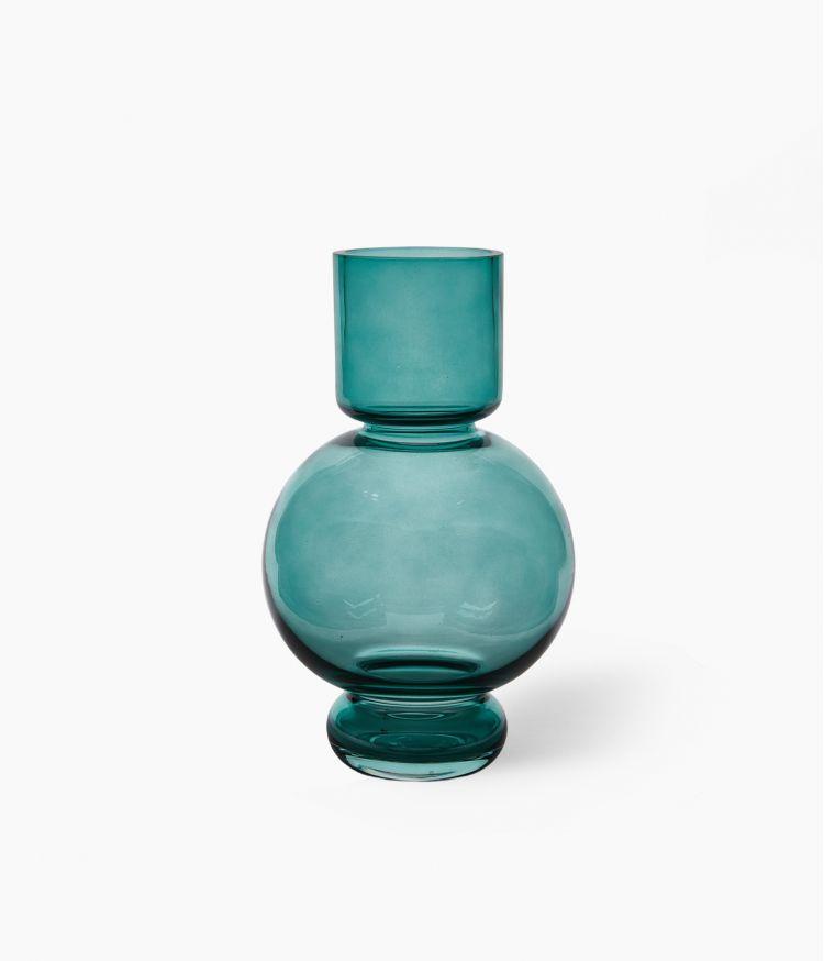 Vase Boule Petit Modèle Bleu