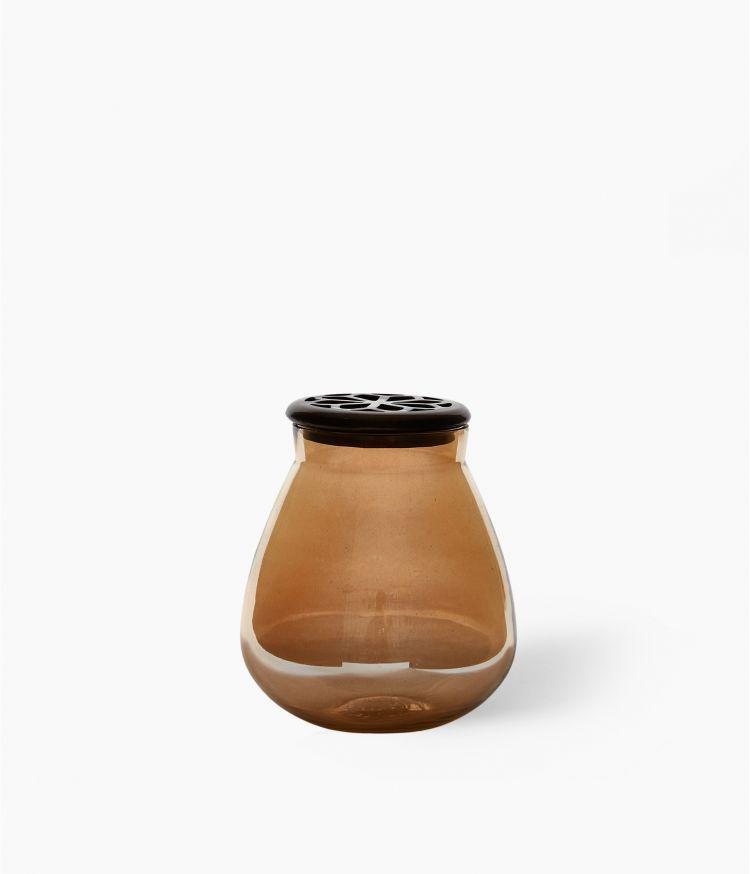 Vase Poire Ambre