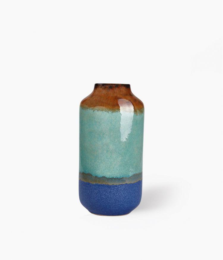 Vase Fuji Bleu