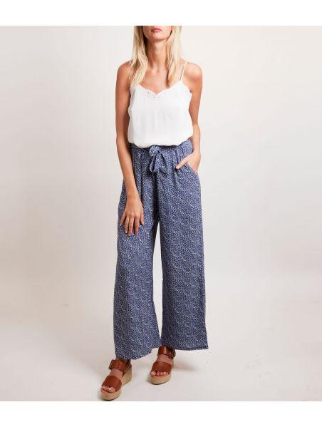 Pantalon Danitza Bleu