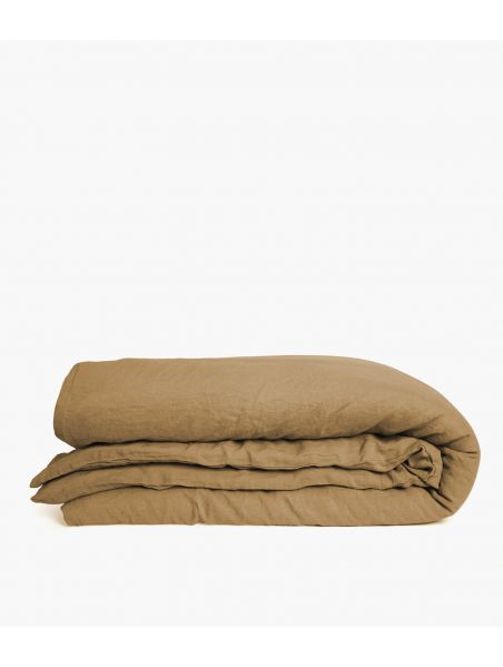 housse couette 260*240 camel