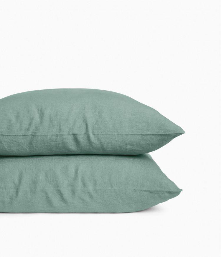 taie oreiller 65*65 celadon