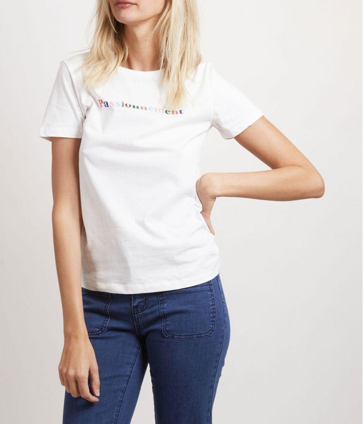 Tee-Shirt Crème