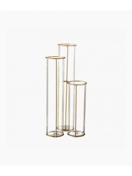 vase gold 11.5*25*11.5