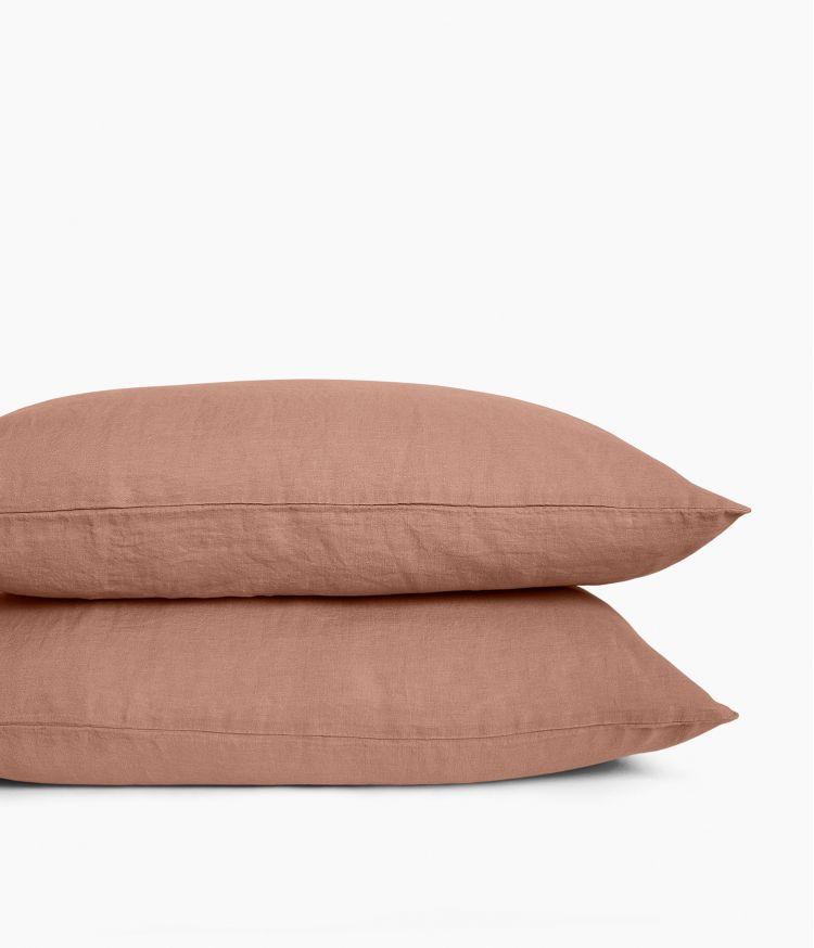 Taie d'oreiller 50 x 70 cm en Lin lavé - Cimarron