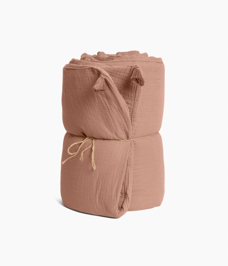 Taie d'édredon 85 x 200 cm en Voile de coton - Cimarron