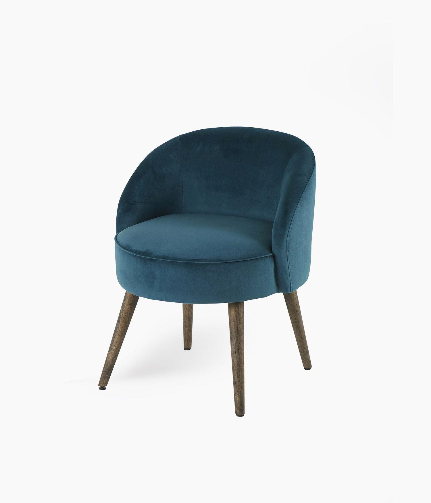 fauteuil honoré canard d54*h13cm