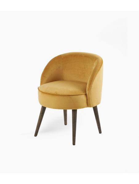 fauteuil honoré gold d54*h64cm