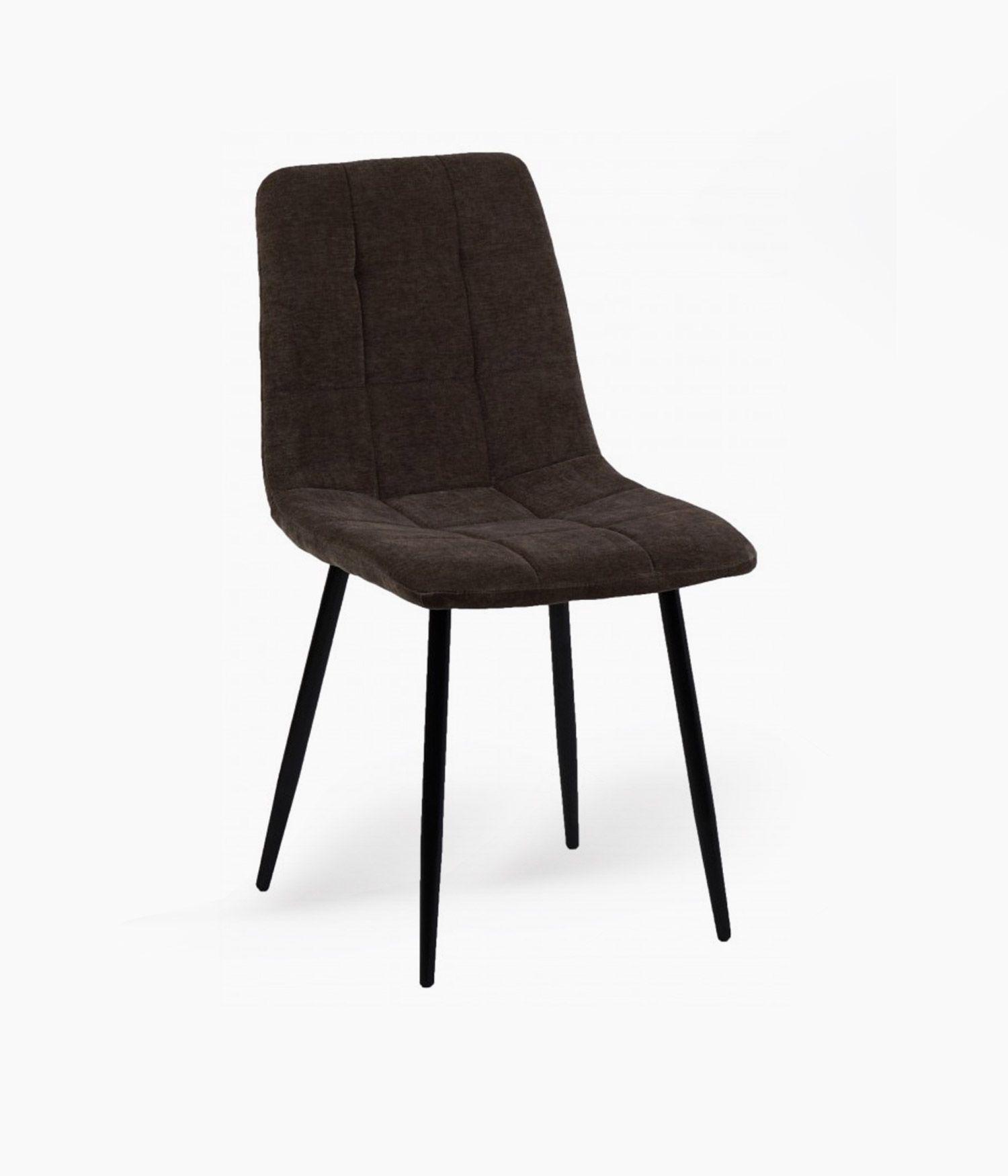 chaise manta tissu taupe
