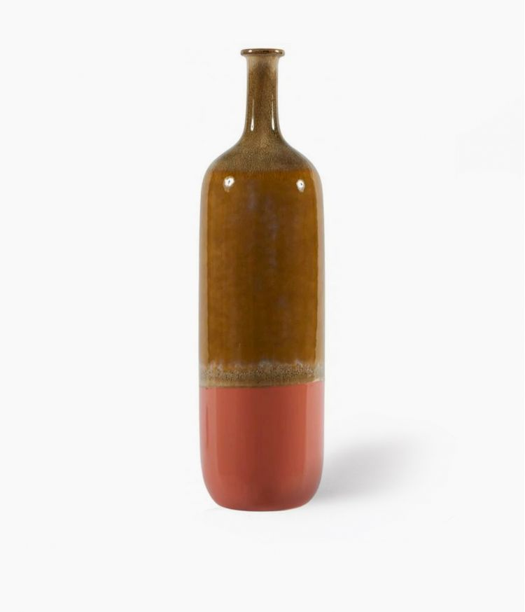 vase fuji orange 17.8*h65cm