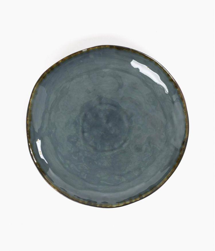 Assiette Plate Pétrole