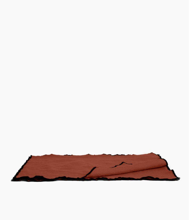 Set de table 35 x 45 cm en Lin lavé - Argile